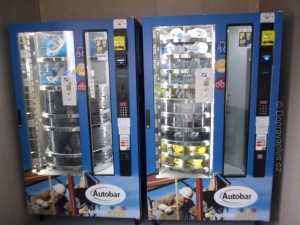 Automat na ochranné pomůcky