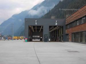Kontrolní areál Gotthard